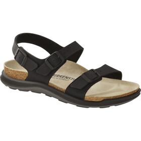 Birkenstock Sonora Crosstown Sandals Birko-Flor Birkibuc Narrow Women, zwart